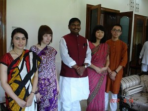 Students from Morroco,Russia,England and China,Jharkhand to do internships