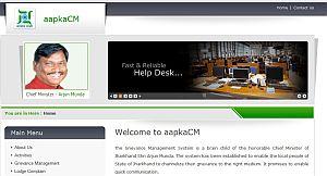 Jharkhand  CM Website , Official website
