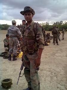 Kuldeep Kumar , BSF