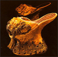 Chopines, or platform shoes, were created in Turkey in the 1400s, and were popular throughout Europe until the mid-1600s