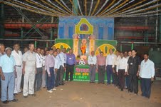 HEC celebrates Vishwakarma puja