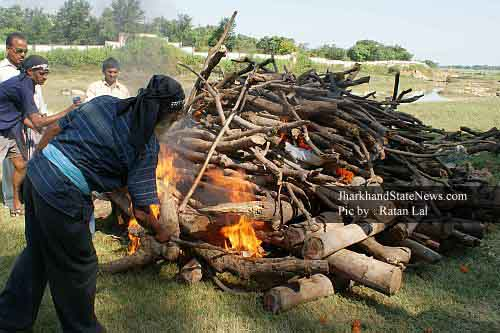 unclaimed bodies in Ranchi, Jharkhand