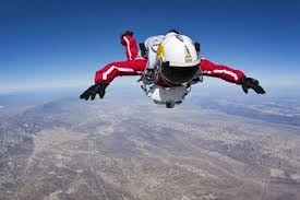 Supersonic skydiver