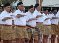 Rastriya Swayamsevak Sangh, uniform,Khaki Half Pants,Sarsanghchalak Mohan Bhagat