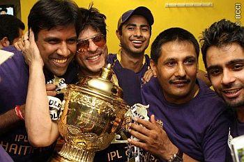 Shahrukh Khan is the boss of Kolkata Knight Riders