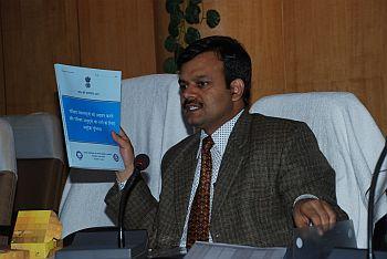 Sunil Barnwal , Deputy Commissioner Dhanbad , Census 2011 Silver medal