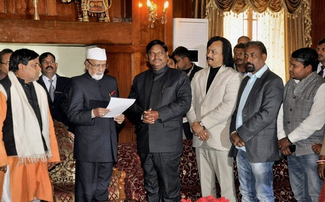 Jharkhand Governor Syed Ahmed,President Rule in Jharkhand