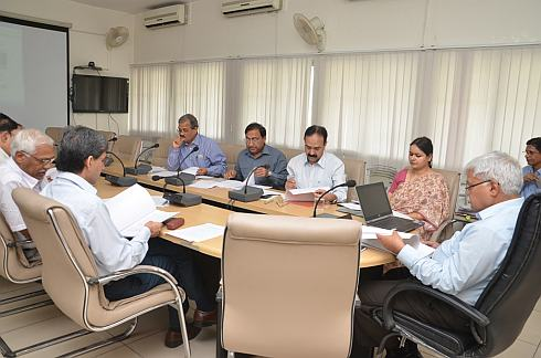 officials participating in meeting of CAMPA