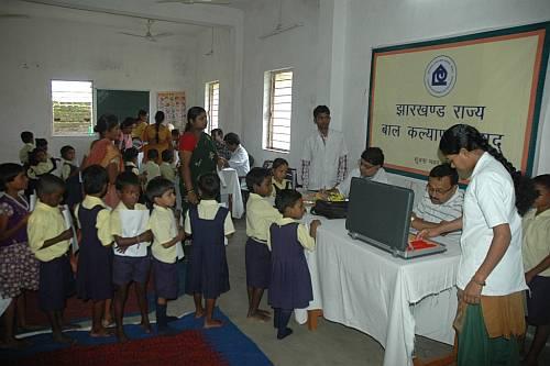 250 children's health checked