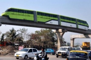 Representational Picture showing monorail