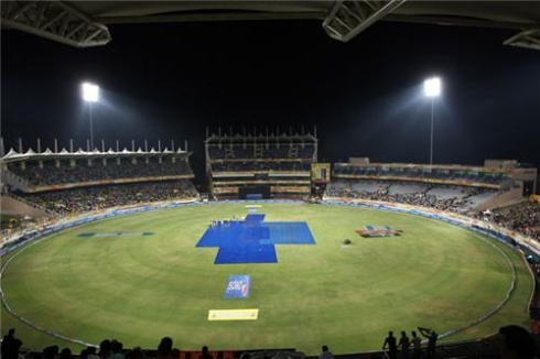 Picture shows JSCA stadium in Ranchi.Courtesy-im.hunt.in/