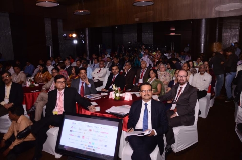 Round Table Conference inside  Le Méridien,New Delhi on August 5,2016.