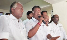 AIADMK split temporary'
