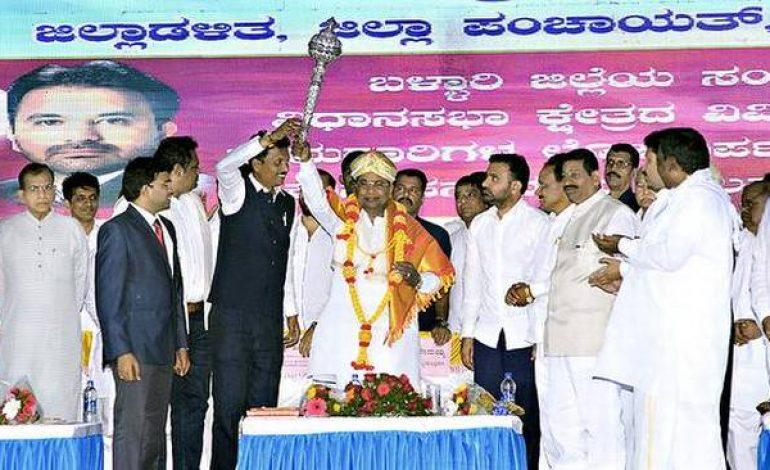 CM criticizes BJP's Parivarthana Yatra