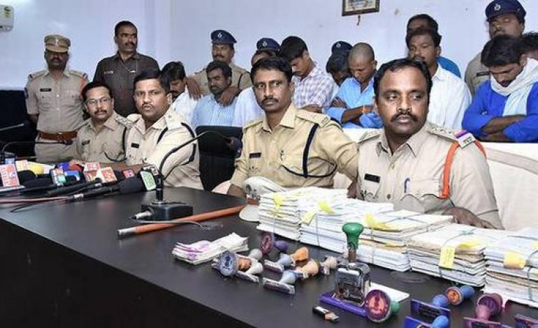 Counterfeit passbook racket busted