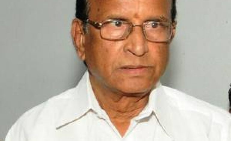 Former A.P. Minister Gali Muddukrishnama Naidu passes away