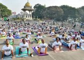 Yoga to spread mindfulness against human trafficking